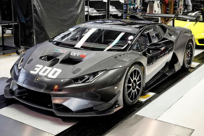 Lamborghini Squadra Corse : déjà 300 Huracan assemblées