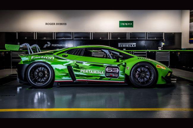 Lamborghini Huracan GT3 : désormais en version Evo