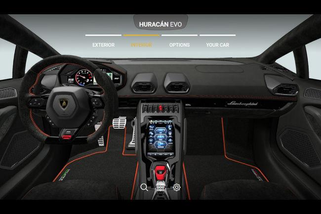 Configurez votre Lamborghini Huracan Evo