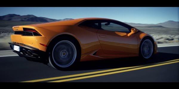 Lamborghini Huracan : la vidéo officielle