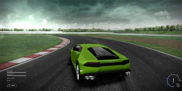 Tondez le gazon en Lamborghini Huracan !