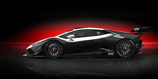 Lamborghini Huracan GT3 : comme ça ?