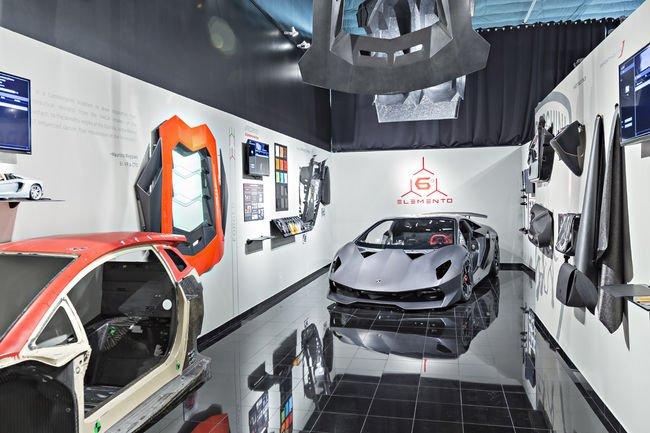 Lamborghini ouvre un centre de recherche dédié au carbone