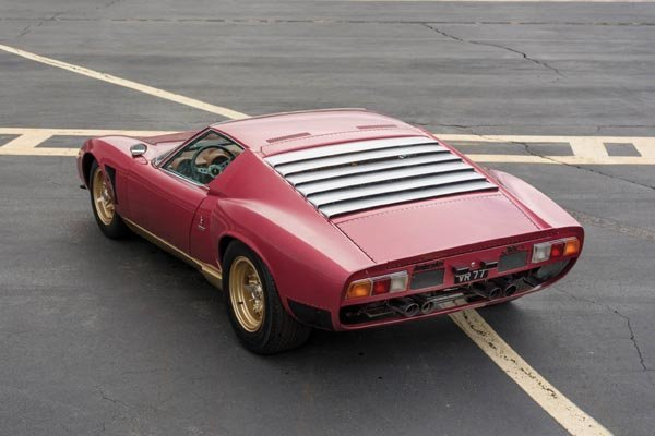 une rare lamborghini miura svj chez rm auctions. Black Bedroom Furniture Sets. Home Design Ideas