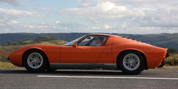 La Lamborghini Miura de The Italian Job à vendre