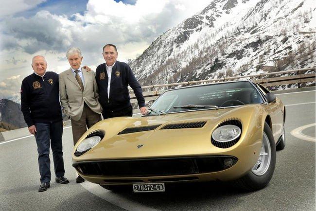 La Lamborghini Miura rejoue The Italian Job