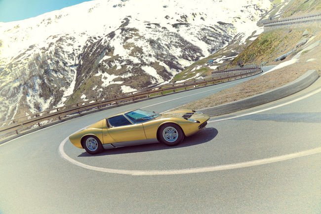 Lamborghini rejoue The Italian Job