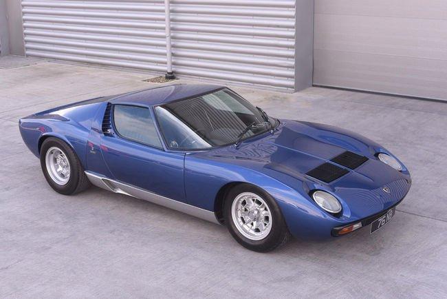 Un million d'euros pour la Lamborghini Miura ex-Rod Stewart