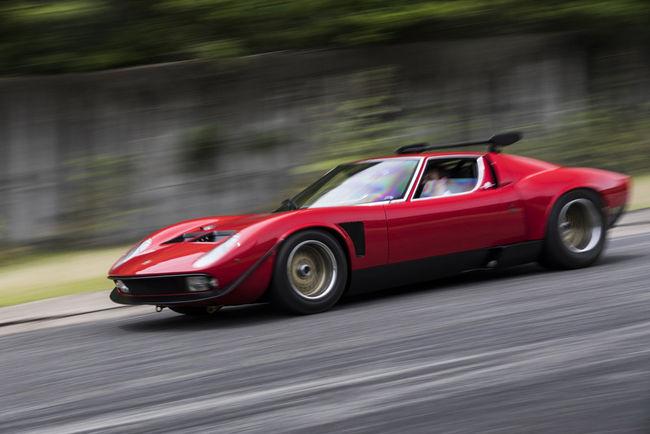 L'unique Miura SVR restaurée par Lamborghini