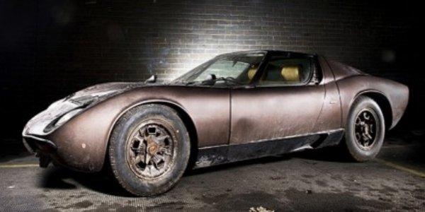 """Lamborghini Miura """"sortie de parking"""" !"""