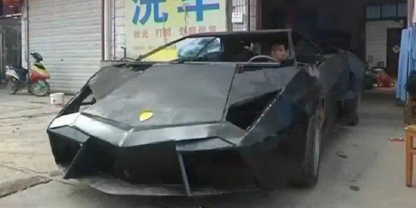 Lamborghini Reventon : la copie chinoise - actualite automobile - Motorlegend