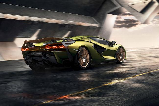 Lamborghini Sián : la plus puissante de toutes
