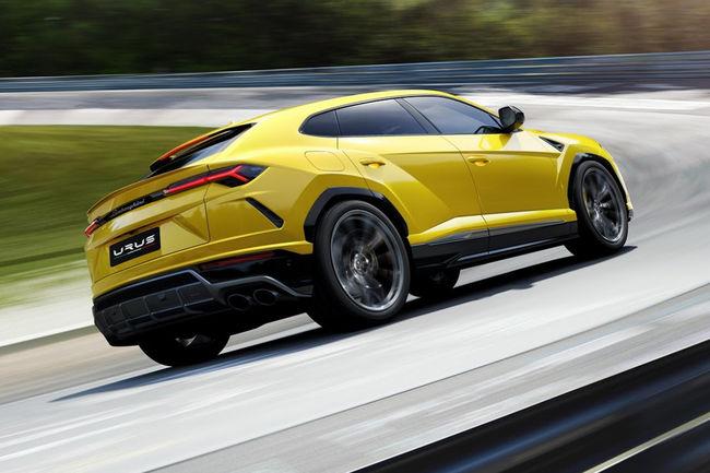 Nouveau Lamborghini Urus