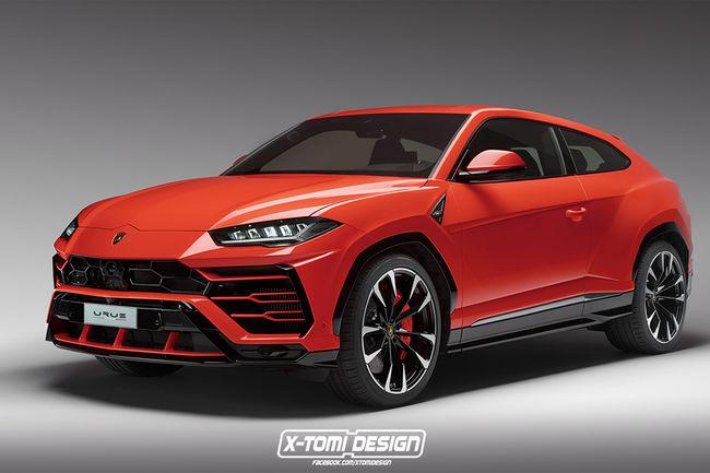 Lamborghini Urus Coupé par X-Tomi Design
