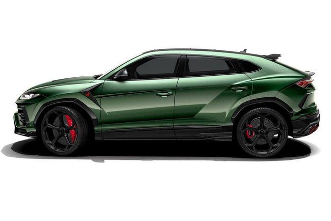 Le Lamborghini Urus revu par TopCar