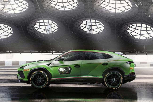 Lamborghini Urus ST-X Concept : vers la compétition