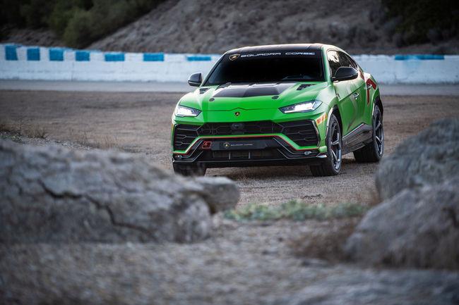 Lamborghini Urus ST-X : pour la compétition