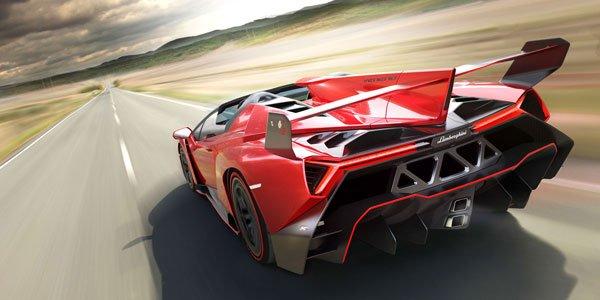 Lamborghini Veneno Roadster : en images