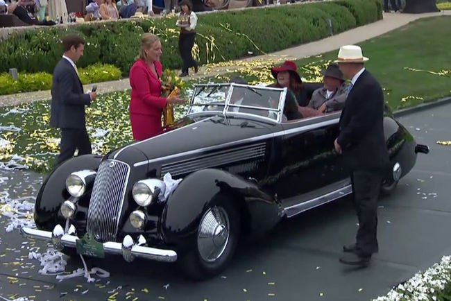 Pebble Beach : le Best of Show pour une Lancia Astura de 1936