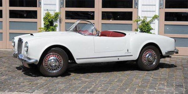 Bonhams : une rare Lancia Aurelia B24 Spider au Grand Palais