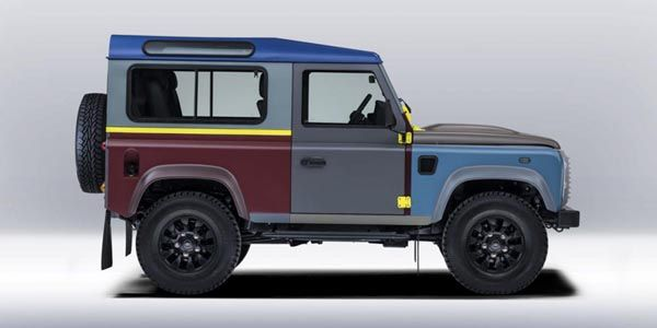 Land Rover Defender par Paul Smith