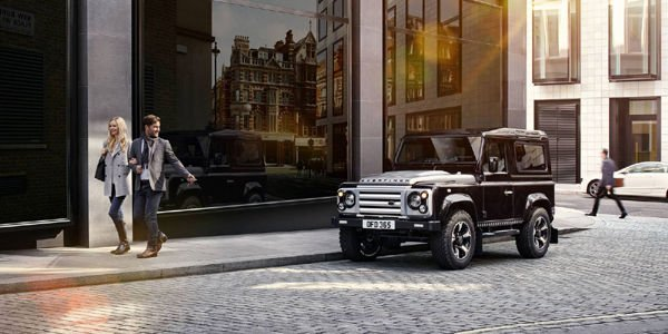 Land Rover Defender 40th Anniversary Edition par Overfinch