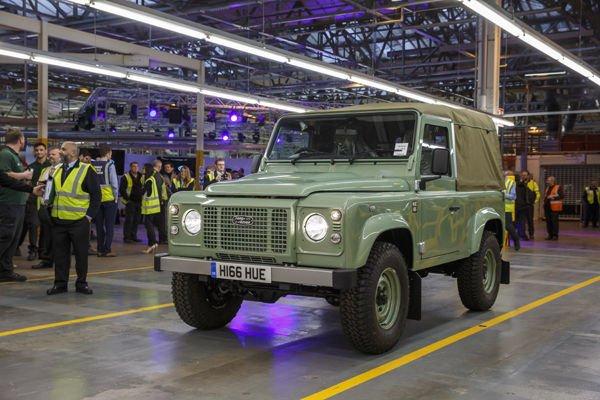 Clap de fin pour le Land Rover Defender