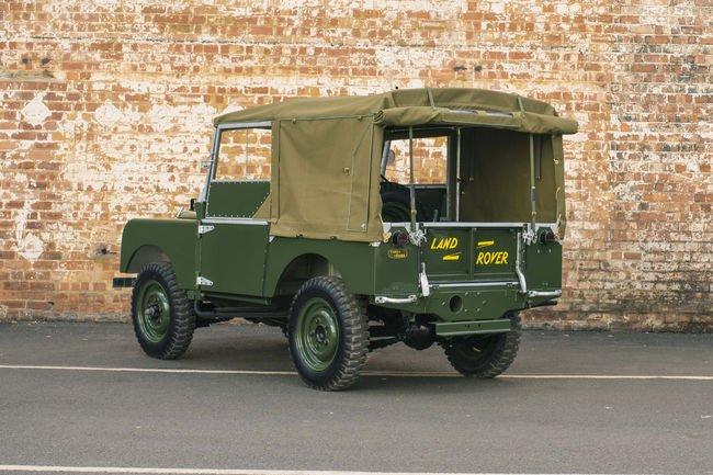 Land Rover Classic présente le Series I Reborn à Essen