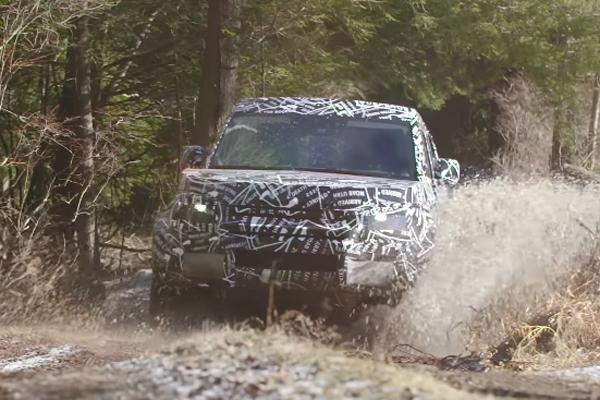 Le Land Rover Defender se dévoile en vidéo
