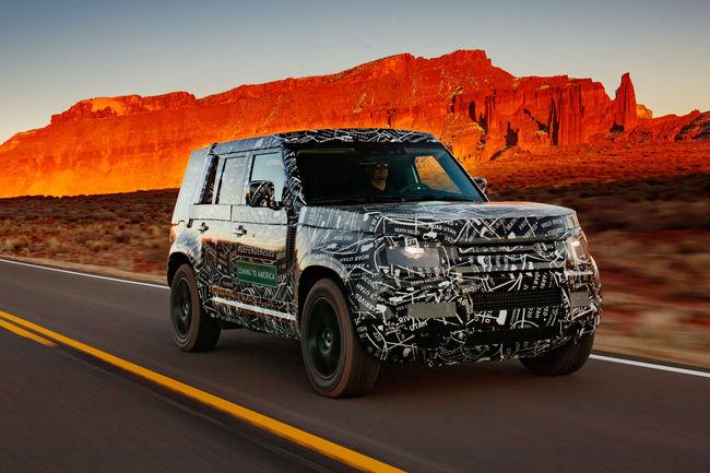 Le Land Rover Defender arrive chez LEGO