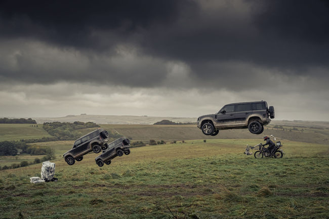 Le Land Rover Defender s'illustre dans