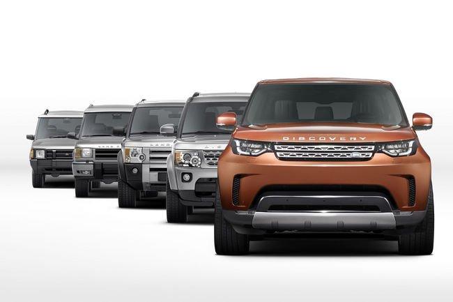 Premières images du nouveau Land Rover Discovery