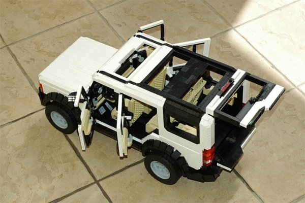 Lego Ideas : Land Rover Discovery 3