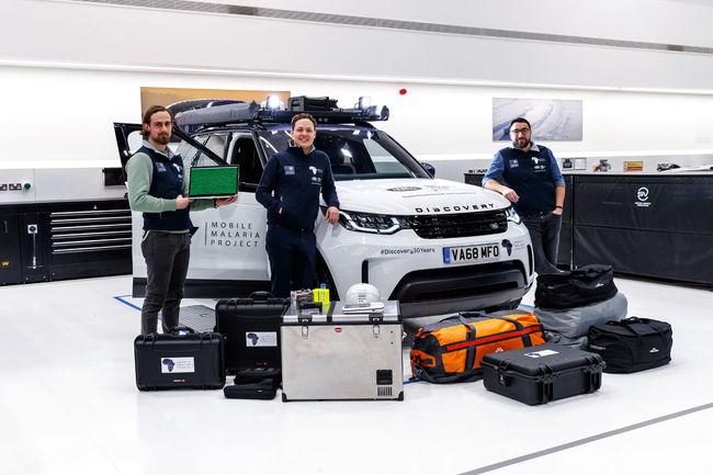 Land Rover participe à la lutte contre la Malaria