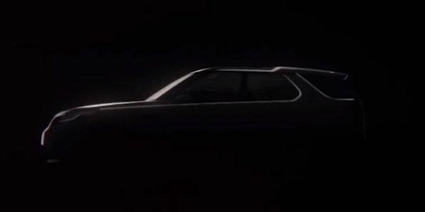 Un teaser pour le prochain Land Rover Discovery