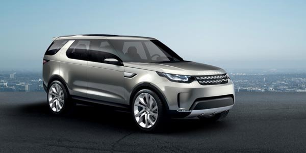 Land Rover dévoile son concept Discovery Vision