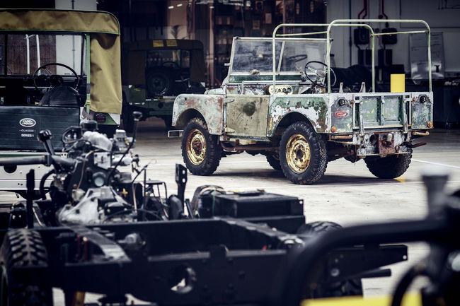 Land Rover lance les festivités de son 70ème anniversaire