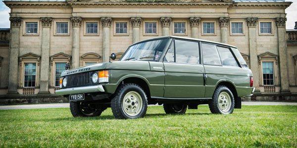 Le premier Range Rover vendu aux enchères
