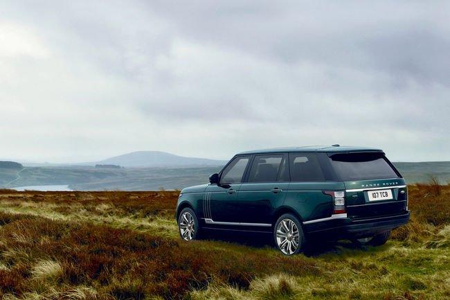 Range Rover Holland & Holland : pour la chasse