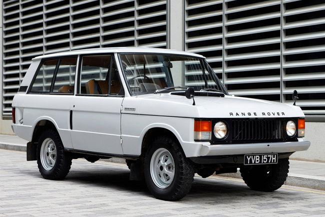 L'évolution du Range Rover en vidéo