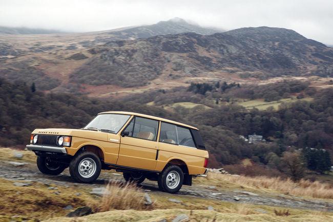 Le programme Range Rover Reborn présent à Rétromobile