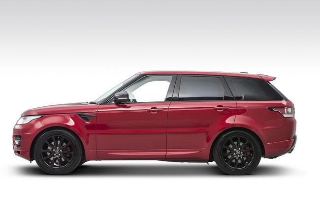 Sutton personnalise le Range Rover