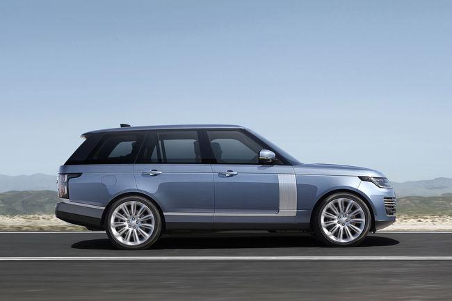 Le nouveau Range Rover accueille un groupe hybride