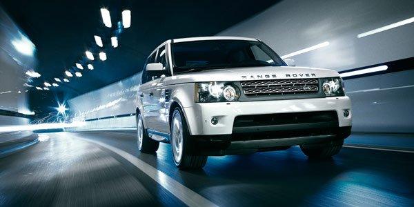 Le Land Rover Range_e à Genève