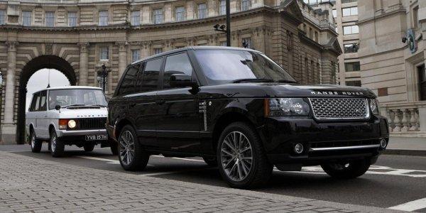 Range Rover 2012, premiers détails