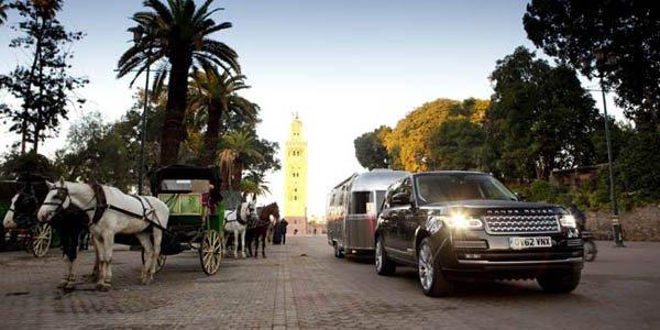 5 900 km en Land Rover et Airstream