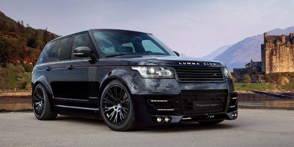 Luma Design prépare le Range Rover