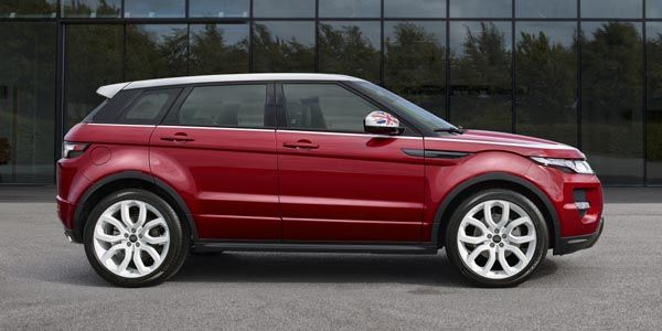 Range Rover Evoque British Edition