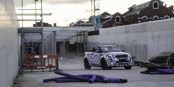 Le Range Rover Evoque découvrable confirmé
