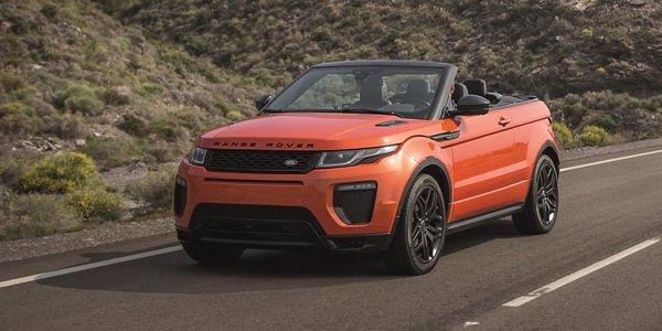 Nouveau Range Rover Evoque cabriolet